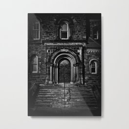 University College East Entrance Toronto Canada Metal Print