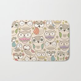 The owling Bath Mat