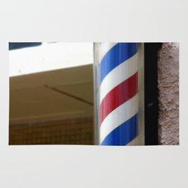 Barber Sign Rug