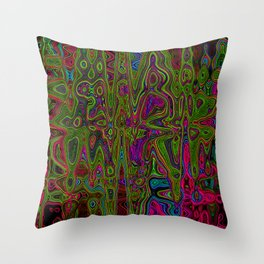 Psych Reversed Throw Pillow