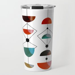 Mid Century 1-9 Travel Mug