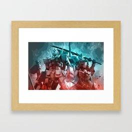 Gundam Framed Art Print