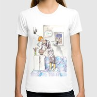 chef T-shirts featuring petit chef by bgallery