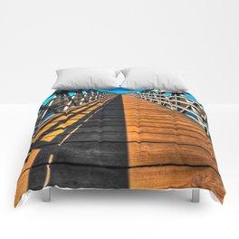 Beach Bridge Comforters