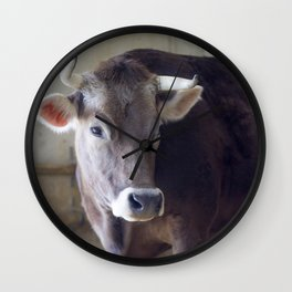 For the love of cows Wall Clock