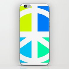 Peace Symbol Abstract iPhone & iPod Skin