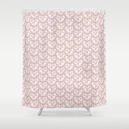 pink forty two Shower Curtain