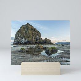 Morning at Cannon Beach Mini Art Print