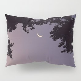 Smile Moon Pillow Sham