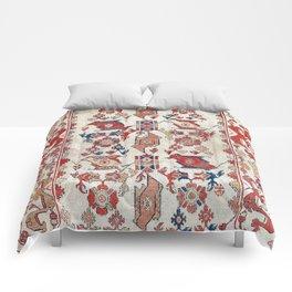 Ushak Selendi 17th Century Bird Carpet Print Comforters