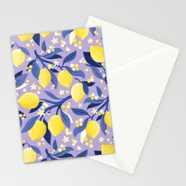 Lemon Mimosa Stationery Cards
