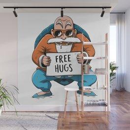 Muten Roshi free hugs Wall Mural