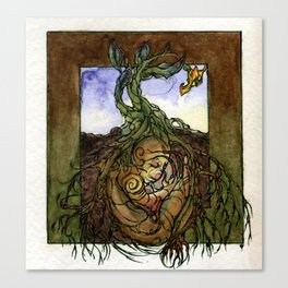 Earth Elemental Canvas Print