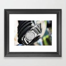 Pegged Framed Art Print