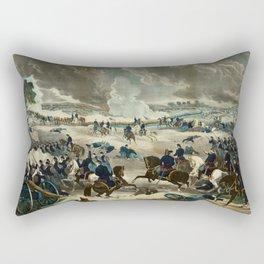 Battle of Gettysburg by Thomas Kelly Rectangular Pillow