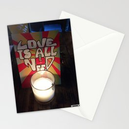By Candle Light Stationery Cards