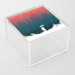 Meteoric rainfall Acrylic Box