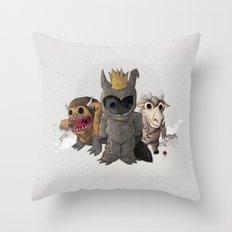 Wild one³ Throw Pillow