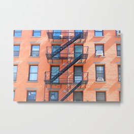 Soho Complementary Building Metal Print