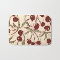 Sweet Cherry Batik Bath Mat
