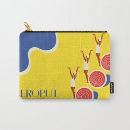 "EX-JU poster ""AEROPUT"" Carry-All Pouch"