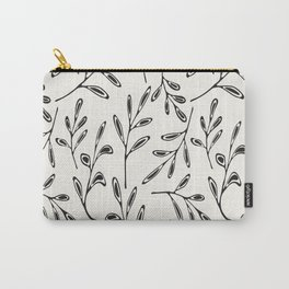 Pattern Play: Leaves Carry-All Pouch