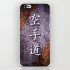 Karate-Do Canvas iPhone & iPod Skin