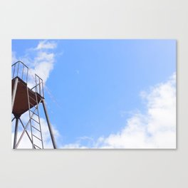 Higher and higher Canvas Print