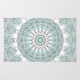 Mandala - Boho - Sacred Geometry - Pastels - Rug