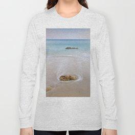 """""""Serenity"""". Looking at the sea.... Long Sleeve T-shirt"""