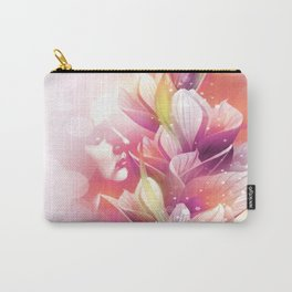 Woman And Flowers By Annie Zeno  Carry-All Pouch