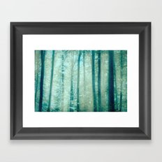into the woods 15 Framed Art Print