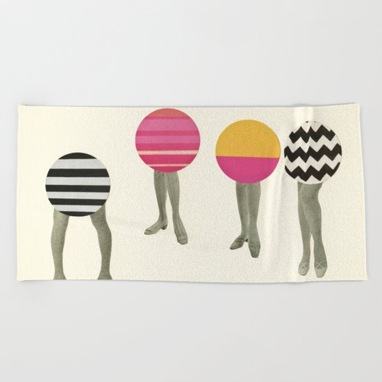 Dancing Feet Beach Towel