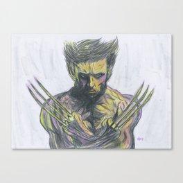 Xwolverine Canvas Print