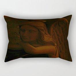 Accepting Death Rectangular Pillow