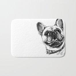 Smile with Dog Bath Mat