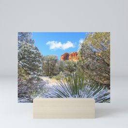 Sedona Winter  by Reay of Light Mini Art Print