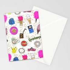 Growing Up in the 90s Stationery Cards
