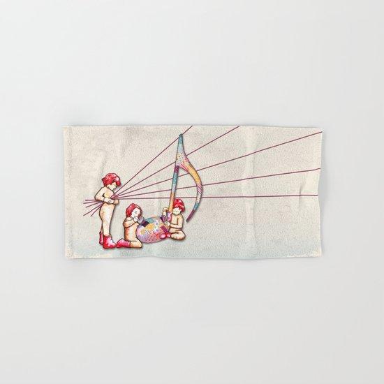 The Music Class - L'atelier de musique Hand & Bath Towel