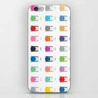 pantone iPhone & iPod Skins featuring Pantone Knight by James Northcote