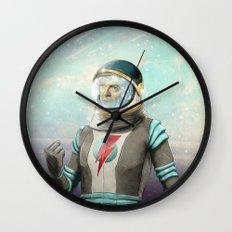 Stardust to Stardust Wall Clock