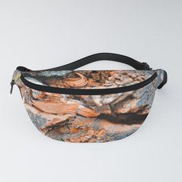 old wood background Fanny Pack