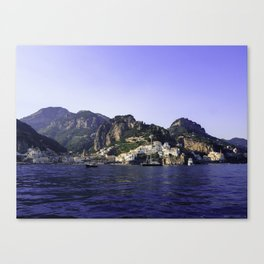 Jewel of the sea Canvas Print