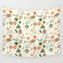 Christmas Cookies Wall Tapestry
