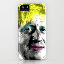 Boris Monroe - Orange iPhone Case