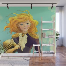 Tammy Wurtherington Freedom Fighter: Aqua Wall Mural