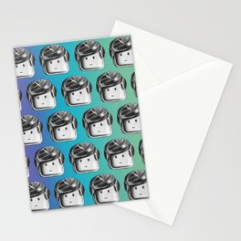 Minifigure Pattern - Cool Stationery Cards