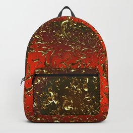 Golden Rain Tangerine Dream Backpack