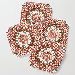 N64 - Traditional Geometric Moroccan Vintage Style Artwork Coaster