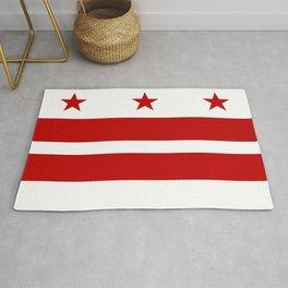 Flag of Washington D.C. Rug